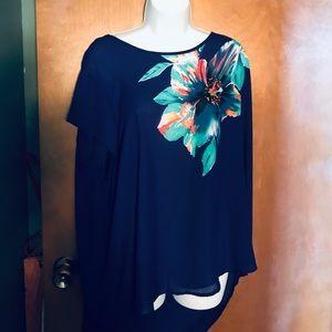 Purple Artisan ny plus blouse
